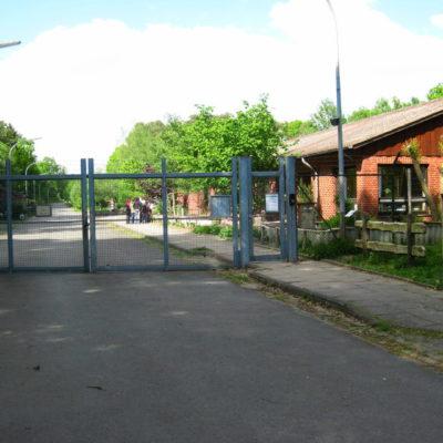 Eingangstor Wildtierstation Sachsenhagen