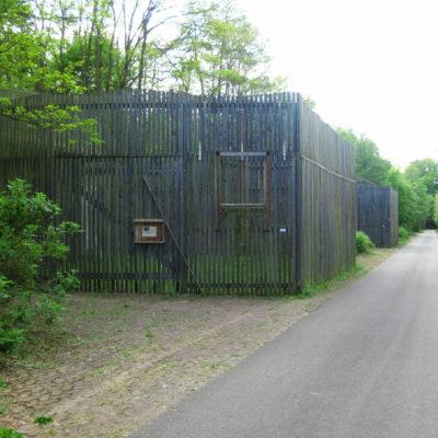 Greifvoegelvolieren Wildtierstation Sachsenhagen