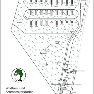 Lageplan Wildtierstation Sachsenhagen