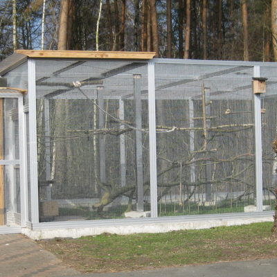 Papageienquarantäne Wildtierstation Sachsenhagen