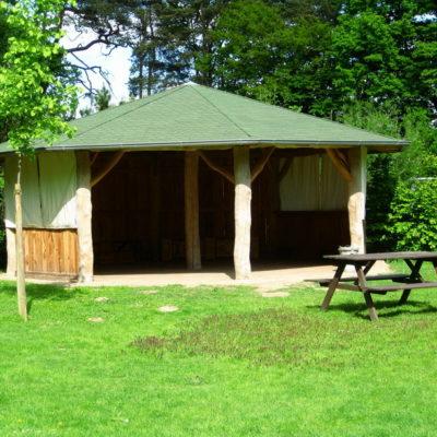 Pavillon Wildtierstation Sachsenhagen