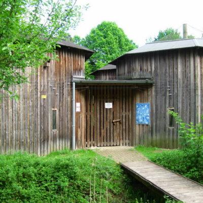 Rundvolieren Wildtierstation Sachsenhagen