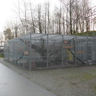 Wildkatzengehege Wildtierstation Sachsenhagen